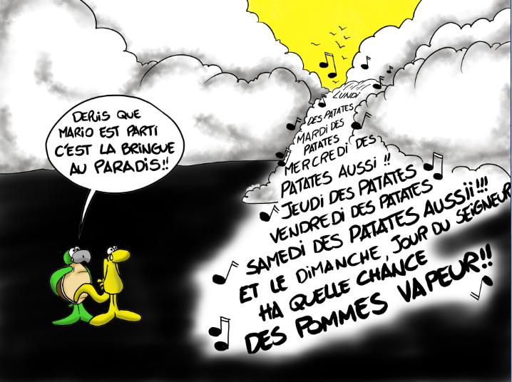 """ Hommage à Mario "" par Munoz"