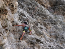 Makatea, le paradis de l'escalade