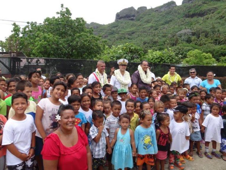 Maupiti : début des travaux pour la future école élémentaire