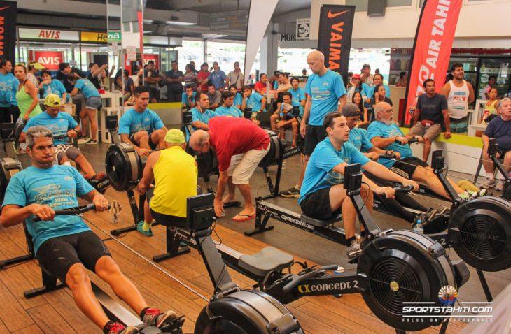 Belle participation pour cette compétition annuelle d'aviron indoor