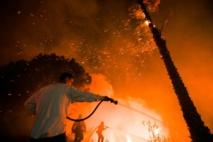 La Californie de nouveau la proie de flammes dévastatrices