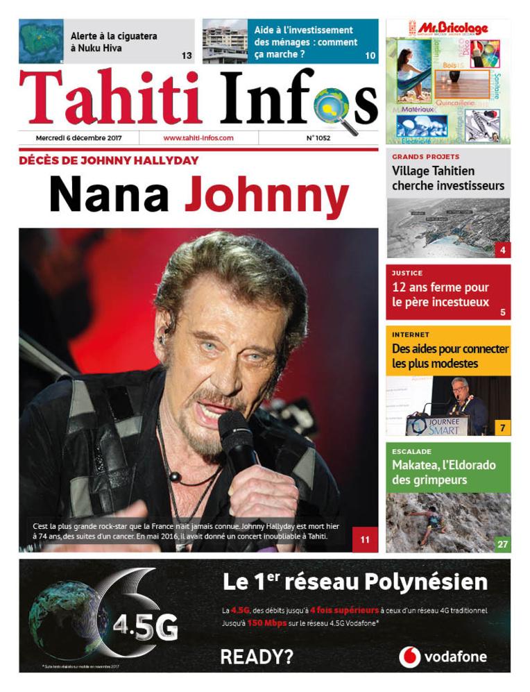 TAHITI INFOS N°1052 du 6 décembre 2017