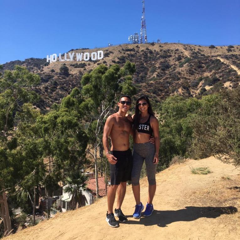 Ariihoe et Annaelle forment un couple qui s'épanouit dans le sport, un bel exemple pour notre jeunesse