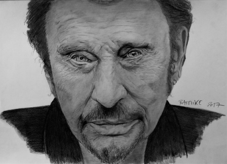 Johnny Hallyday par B-Art-Mike Tahiti