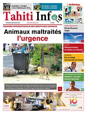 TAHITI INFOS N°1054 du 8 décembre 2017