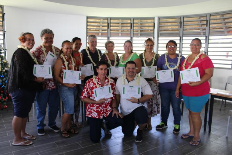 La deuxième promotion du  diplôme universitaire, intitulé « Infirmière et infirmier à compétences élargies en soins de santé primaire insulaire ».