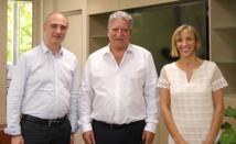 Le PDG d'Ericsson France reçu par Jean-Christophe Bouissou