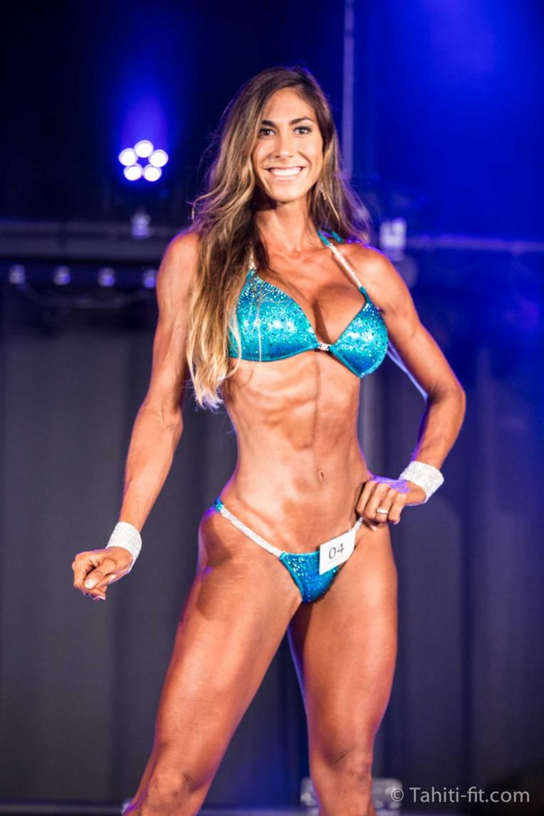 Rahera Vairaaroa s'impose dans la catégorie miss bikini © Tahiti Fit
