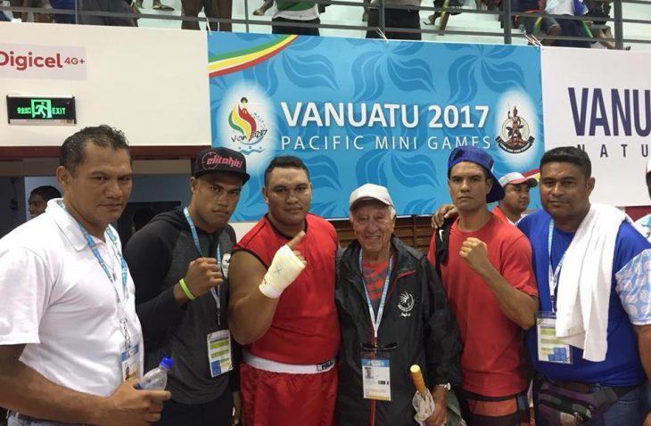 Belle performance de nos boxeurs tahitiens au Vanuatu