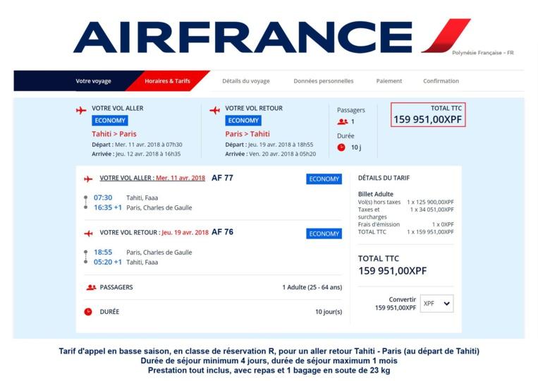 Aérien : Air France s'aligne sur la baisse des prix