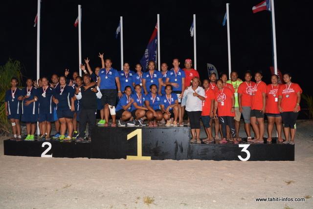 19 médailles d'or, 17 médailles d'argent et 9 en bronze, l'atoll de Rangiroa se hisse à la première place du classement général.