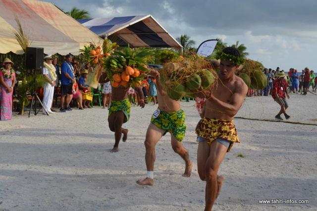 Pour les sports traditionnels, la délégation de Rangiroa repart avec 6 médailles d'or, 3 pour Anaa, 1 pour Makemo et 1 pour Manihi.