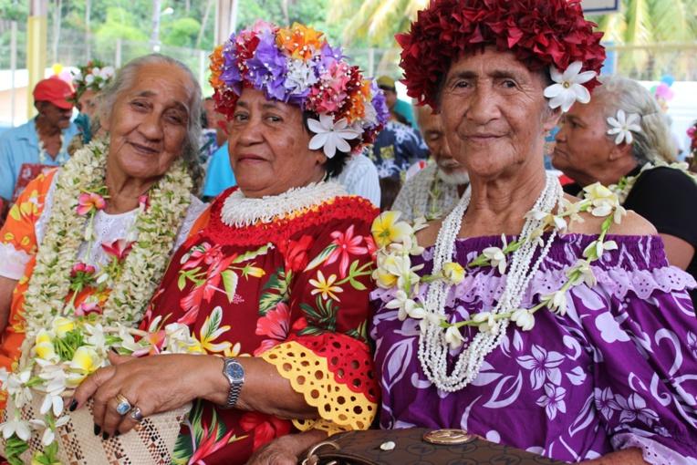 Les matahiapo de Bora Bora étaient à l'honneur, la semaine dernière (crédit : commune de Bora Bora).