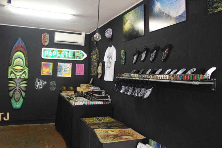 Neuf artistes ouvrent les portes d'un pop-up store de 4 jours