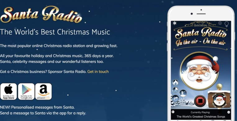 Suivez le père Noël en direct