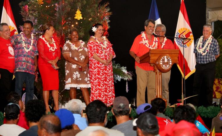 Noël pour les personnes sans domicile fixe à la présidence