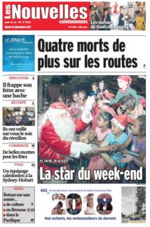 Noël meurtrier sur les routes de Nouvelle-Calédonie
