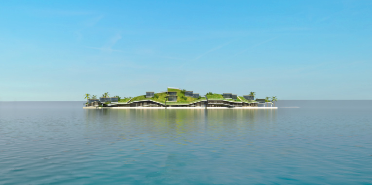 Cités flottantes : un projet en plusieurs vagues