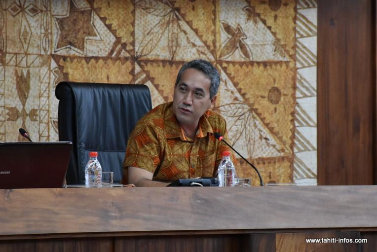 Vœux du président de l'Assemblée de la Polynésie française