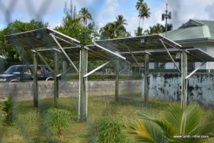 L'installation photovoltaïque de la mairie annexe de Maiao.