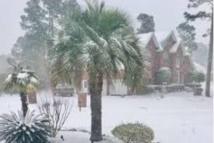 De la neige en Floride, du jamais vu depuis 29 ans