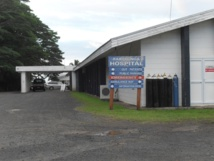 L'hôpital de Rarotonga où le jeune Polynésien est soigné (photo : electives.net)
