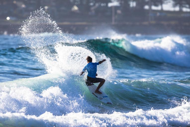 Les petites vagues australiennes n'ont pas souri à Kauli Vaast