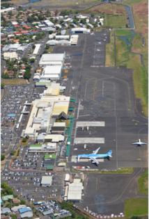 En 2017, le nombre global de passagers à l'aéroport de Tahiti Faa'a a augmenté de 3.6 % par rapport à 2016 : + 1.7 % pour le trafic international, et 5.3% pour le trafic domestique.