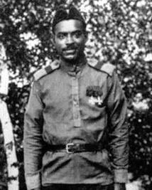 Marcel Plia, le combattant polynésien de l'armée russe.