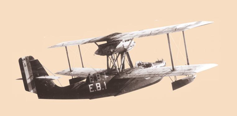 Le bimoteur CAMS 55 l'un des deux types d'appareils de l'escadrille, avec le CAMS 37, monomoteur. Crédit Jean-Louis Saquet.