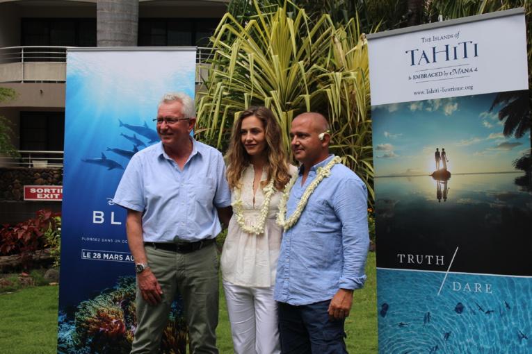Blue, le dernier Disney officiellement présenté en Polynésie