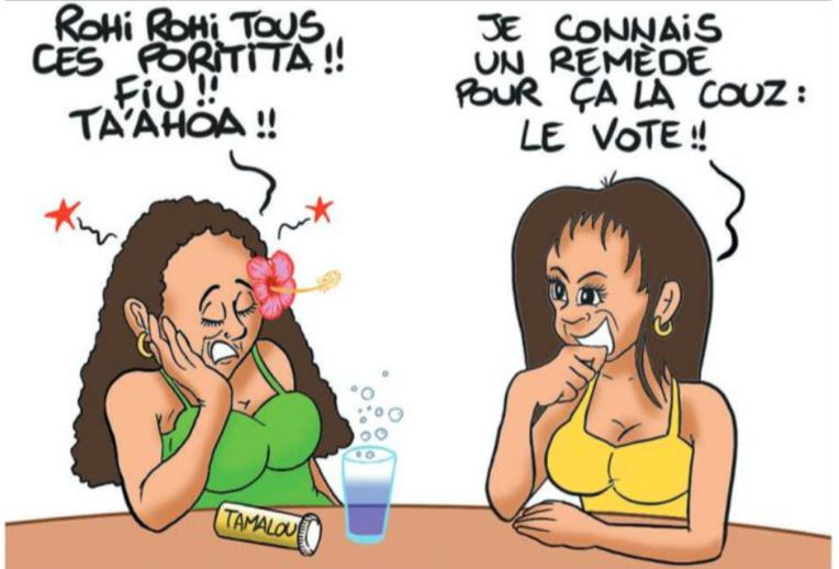 """"""" Voter, c'est bon pour la santé """" par Munoz"""