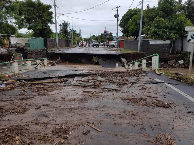 Les fortes pluies qui ont touché le fenua au début de l'année 2017 avaient fait de nombreux dégâts.