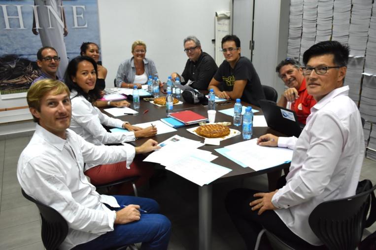 Le jury a délibéré pendant deux heures © JPV / Tahiti Infos