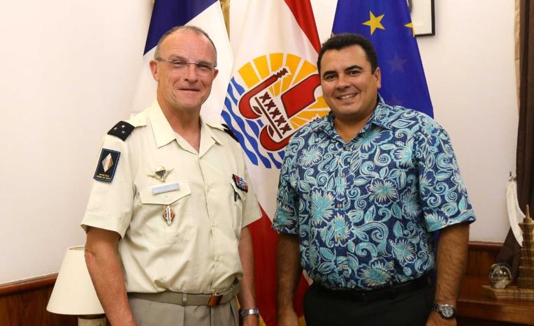 Entretien du Vice-Président avec le général de division Wasielewski