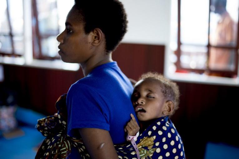 Indonésie: des centaines d'enfants frappés par la rougeole en Papouasie