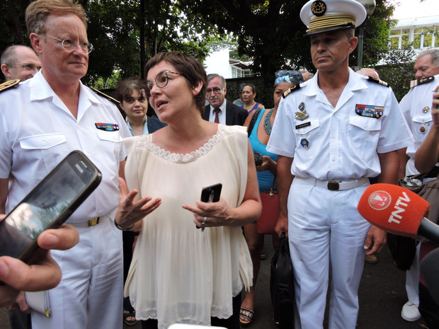 """Annick Girardin appelle à la """"réconciliation"""" sur le fait nucléaire"""