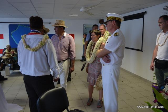 Cet espace de 336 m² pourra accueillir une partie de la population, soit 200 habitants, le reste pourra se réfugier à l'école de l'atoll ou encore dans les maisons surélevées.