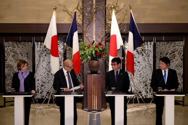 France et Japon s'engagent à faire pression commune sur Pyongyang