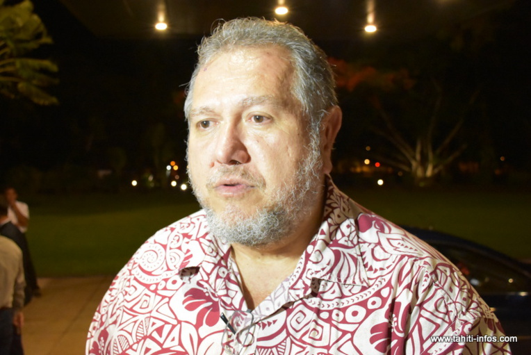 """""""C'est quelque chose qu'il faut faire, puisqu'aujourd'hui le CIMM est un ensemble de critères non pondérés qui, finalement, ne nous permettent pas de différencier un natif de Polynésie d'un non-natif"""" (Moetai Brotherson)."""