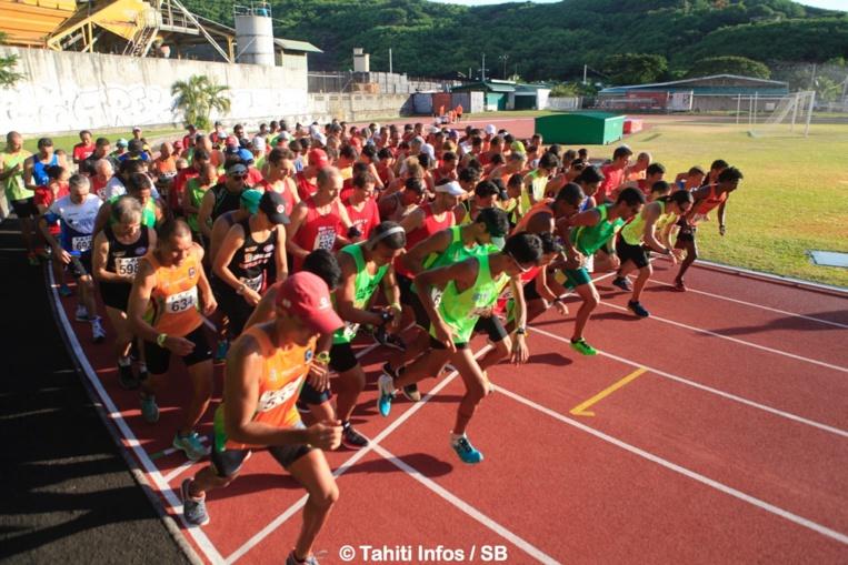 Presque 170 participants au départ