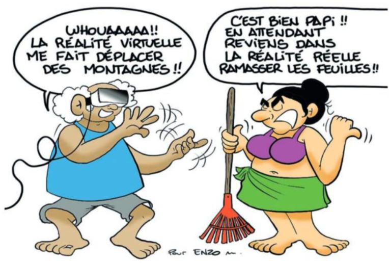 """"""" La réalité virtuelle """" par Munoz"""