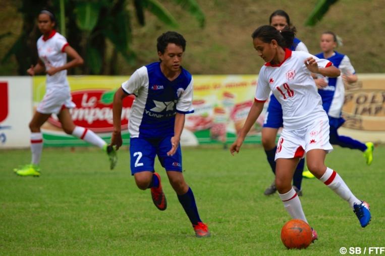 Les filles ont remporté le match 12-0
