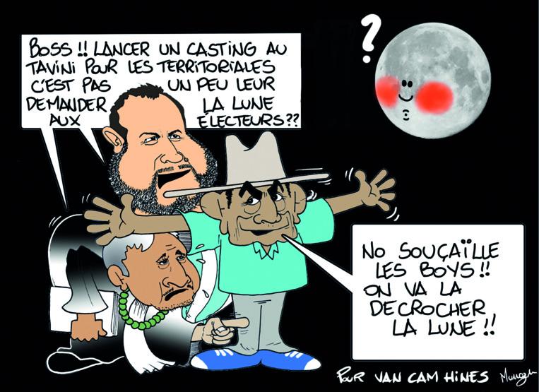 """"""" Le casting du Tavini """" par Munoz"""