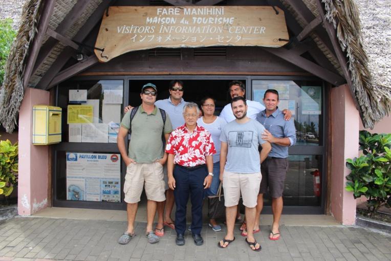 Bora Bora se prépare pour le World Diam Tour