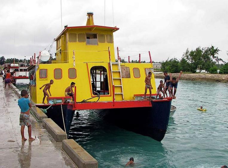 Naufrage d'un ferry aux Kiribati: plus de 80 disparus
