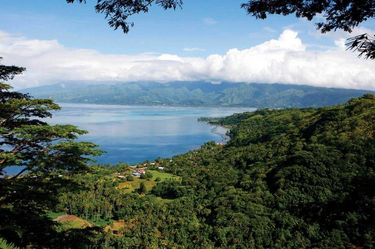 Le Paul Gauguin fera une première escale à Vairao, en juillet. (Photo : port autonome de Papeete)