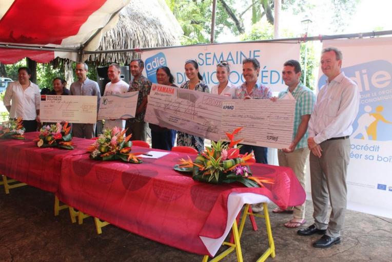 Quatre porteurs de projets ont été récompensés au concours Cré'Adie 2017.