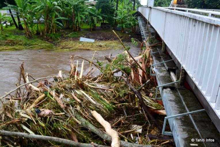 Le souvenirs des inondations de 2017 sont encore vifs dans la mémoire des Tahitiens