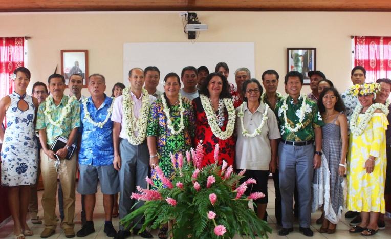 La troisième rencontre du tourisme nautique aux îles Sous-le-Vent, organisée à l'initiative du ministère du Tourisme et de la subdivision administrative des îles Sous-le-Vent.